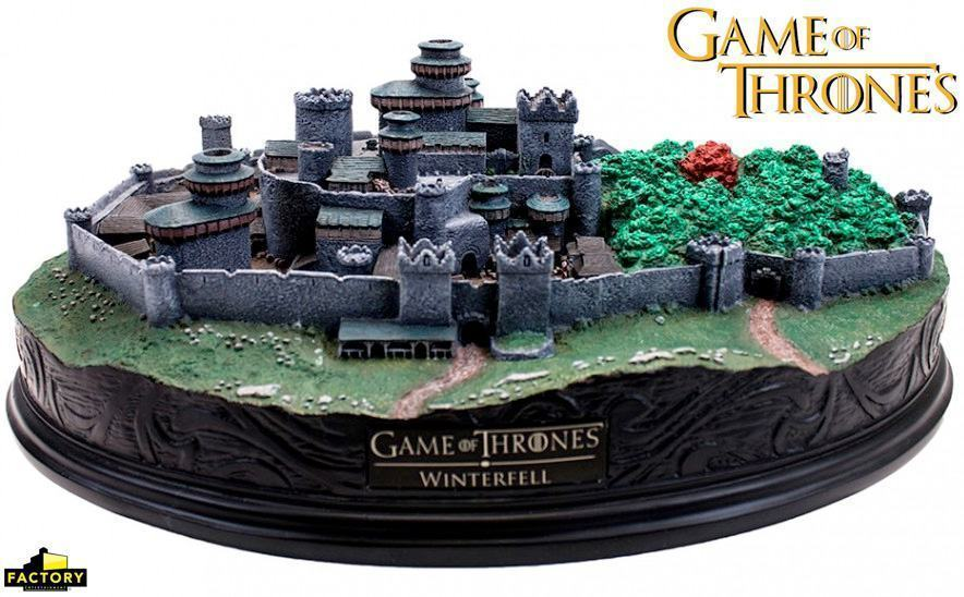 Maquete-Game-of-Thrones-Winterfell-Desktop-Statue-05