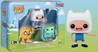 Mini Bonecos Adventure Time Pocket Pop! (Hora de Aventura)