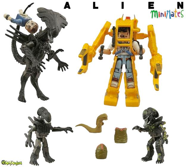 Minimates-Alien-Queen-e-Power-Loader-01
