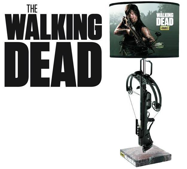 Abajur-Luminaria-The-Walking-Dead-Crossbow-Table-Lamp-01
