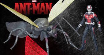 "Action Figures 3.75"" Ant-Man com a Formiga Antony"