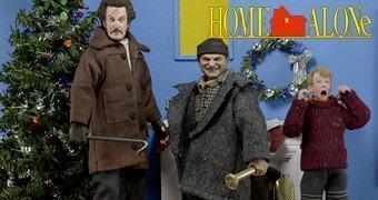 Action Figures do Filme Esqueceram de Mim (Home Alone)