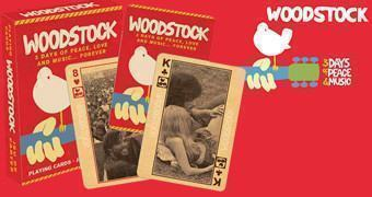 Baralho do Festival de Rock Woodstock 1969
