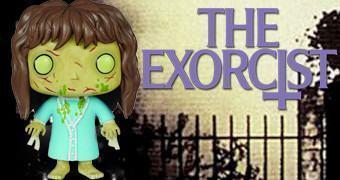 Boneca Funko Pop! do Filme O Exorcista: Menina Reagan Possuída