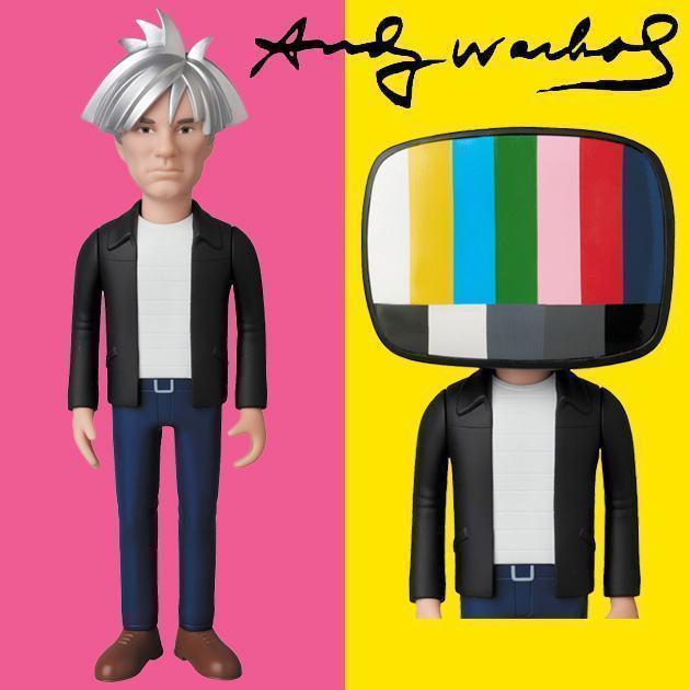 Boneco-Andy-Warhol-VCD-Anos-80-Medicom-instag