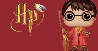 Boneco Harry Potter Pop! Quadribol (Quidditch)