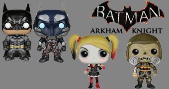 Bonecos Funko Pop! do Game Batman: Arkham Knight