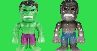 Hulk Hikari Sofubi (Verde e Cinza) – Bonecos Funko em Estilo Japonês