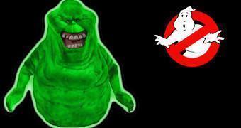 Cofre Ghostbusters Fosforescente do Fantasma Slimer (Geléia)