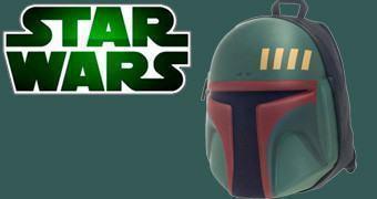 Mochila Star Wars: Capacet Boba Fett