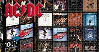 Quebra-Cabeça Discografia AC/DC