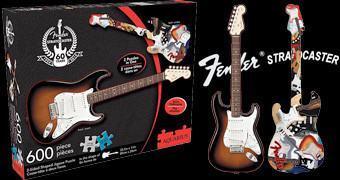 Quebra-Cabeça 60 Anos da Guitarra Fender Stratocaster