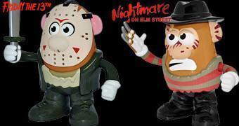 Terror no Batatal: Sr. Cabeça de Batata Jason (Sexta-Feira 13) e Sr. Cabeça de Batata Freddy Kruger (Hora do Pesadelo)