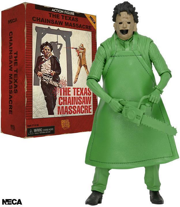LEATHERFACE Texas Chainsaw Massacre Action Figure /'83 Video Game Appearance Neca