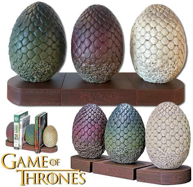 Apoio-de-Livros-Game-of-Thrones-Dragon-Eggs-Bookends-01