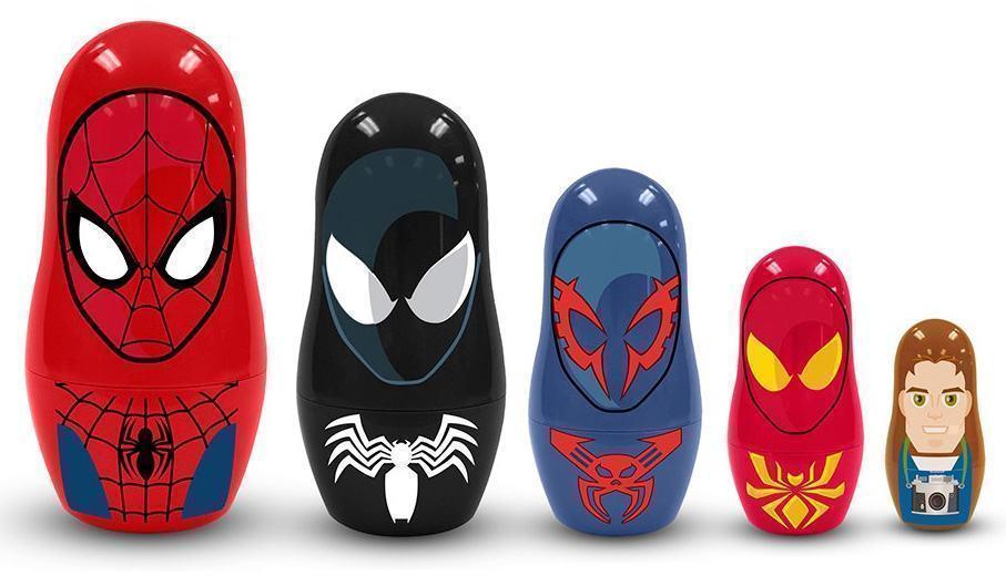 Bonecas-Russas-Spider-Man-Nesting-Dolls-02