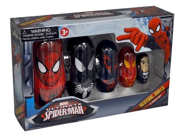 Bonecas-Russas-Spider-Man-Nesting-Dolls-03
