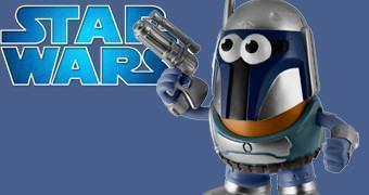 Sr. Cabeça de Batata Jango Fett Mr. Potato Head (Star Wars)