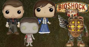 Bonecos Funko Pop! do Game BioShock Infinite
