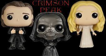 Bonecos Funko Pop! do Filme Crimson Peak de Guillermo del Toro