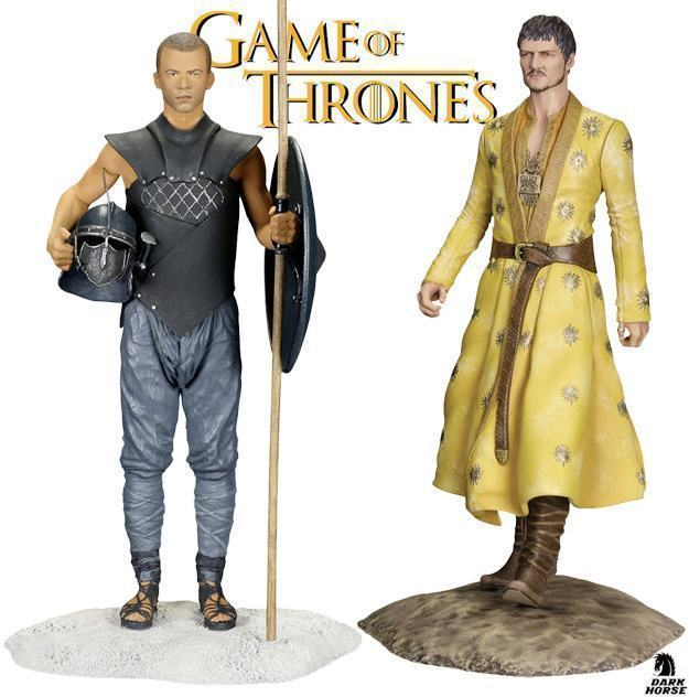 Estatuas-Dark-Horse-Game-of-Thrones-Figurine-Oberyn-e-Grey-Worm-01