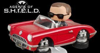 Agents of SHIELD Pop! Rides: Diretor Coulson e Lola, o Corvette Conversível 1962