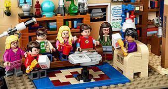 LEGO The Big Bang Theory – Sala de Estar Leonard e Sheldon