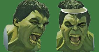 Pote de Cookies Hulk em Vingadores Era de Ultron