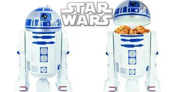 Potes de Cookies Star Wars R2-D2 com Efeitos Sonoros