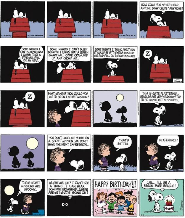 Snoopy-Aniversario