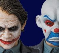 Action Figure MAFEX: Heath Ledger como Coringa Ladrão de Banco