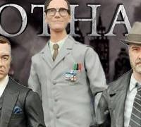 "Action Figures Select 7"" Gotham TV: Alfred, Bullock e Nygma"