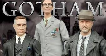 "Action Figures Select 7"" Gotham TV: Alfred, Bullock e Nygma"