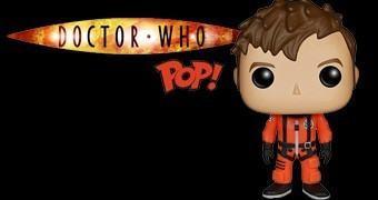 Boneco Pop! Doctor Who: 10º Doctor com Roupa Espacial (NYCC15)