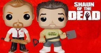 Bonecos Pop! Shaun of the Dead (Todo Mundo Quase Morto)