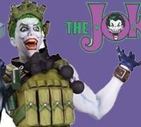 Busto Super-Vilões da DC Comics: Coringa por Jim Lee