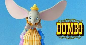 Busto Disney Grand Jester: Dumbo Voando