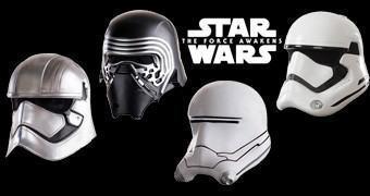 Capacetes Star Wars: O Despertar da Força