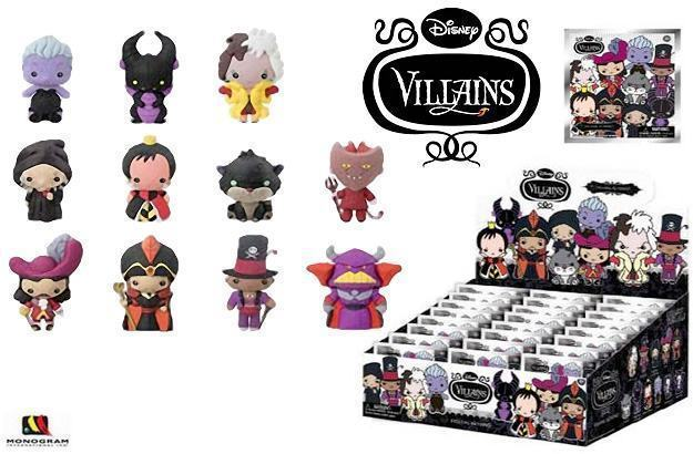 Chaveiros-Disney-Villains-3D-Monogram-Figural-Keyrings-01