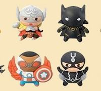 Chaveiros Marvel Guerras Secretas 3D Monogram Figural Keyrings
