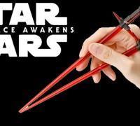 Light-Saber Chopsticks – Hashis Kylo Ren Sabre de Luz em Star Wars: O Despertar da Força
