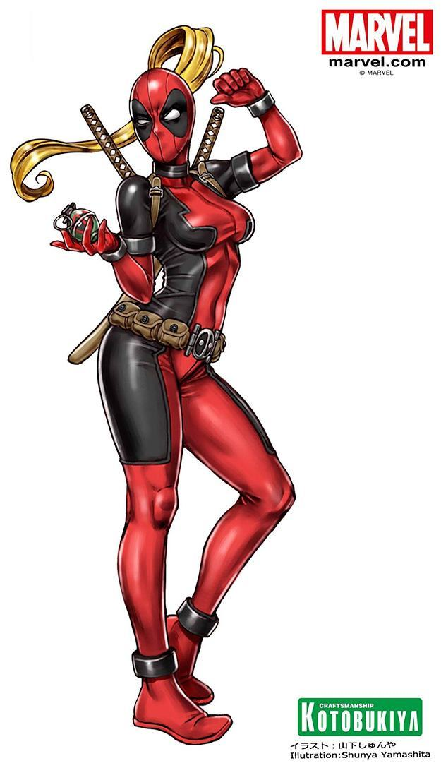 Estatua-Lady-Deadpool-Bishoujo-09