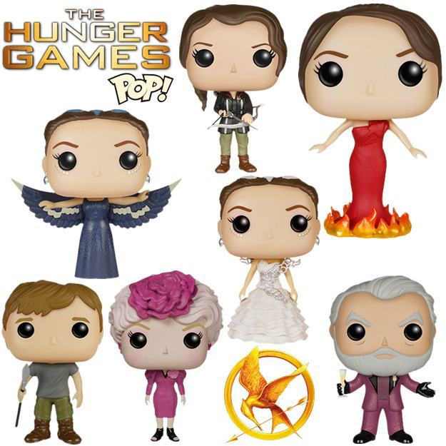 Bonecos Funko Pop! Jogos Vorazes (Hunger Games) « Blog de ... Katniss Everdeen And Peeta Mellark Wedding