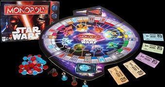 Star Wars The Force Awakens Monopoly – Jogo de Tabuleiro Temático