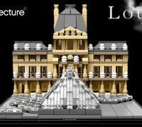 LEGO Architecture: Musée du Louvre