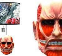 Abajur Attack on Titan: Colossal Titan!