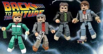 Minimates De Volta para o Futuro 30 Anos Série 2
