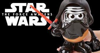 Sr. Cabeça de Batata Kylo Ren Star Wars: O Despertar da Força