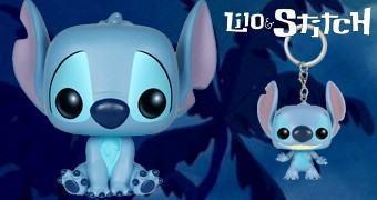 Boneco Stitch Pop! e Chaveiro Stitch Pocket Pop!