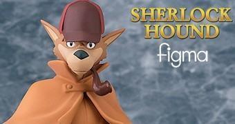 Action Figure Figma Sherlock Hound – Anime de Hayao Miyazaki